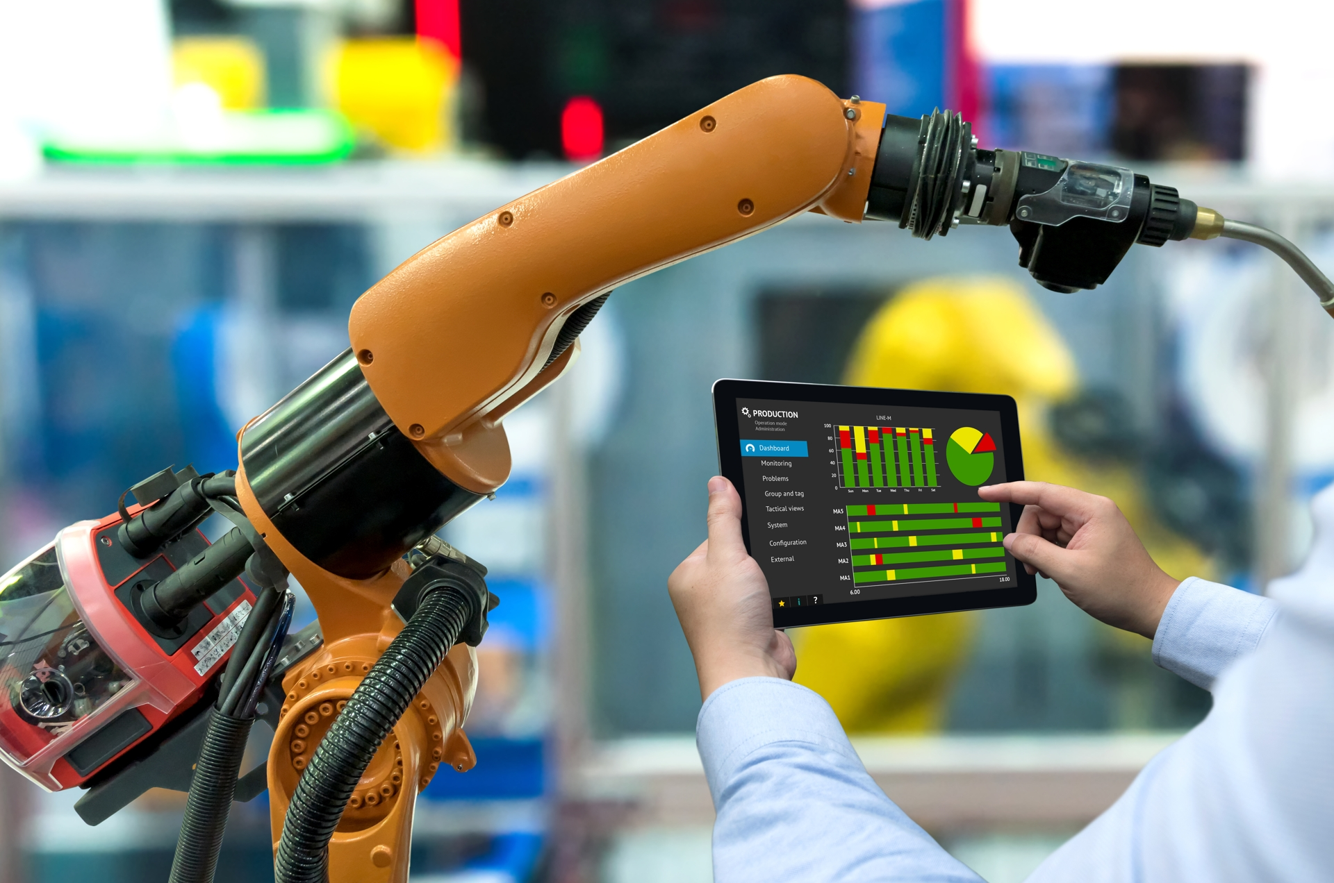 Production - Industry 4.0 manufacturing environment