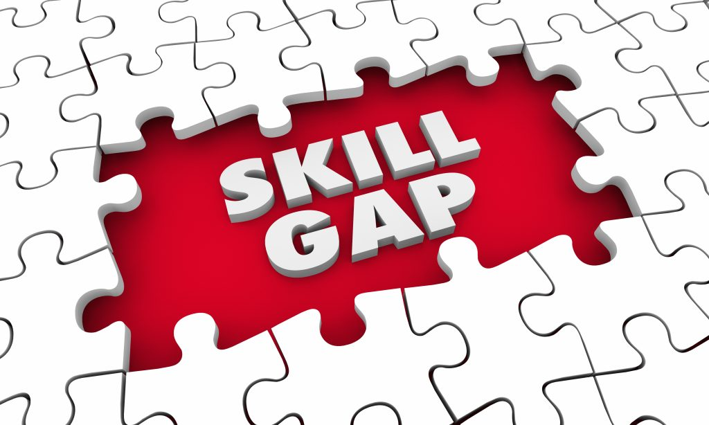 Skill Gap Graphic