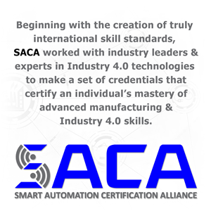 SACA: Certifying the Smart Automation Workforce
